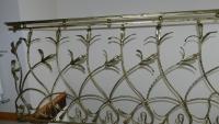Balustrada wewnętrzna kuta