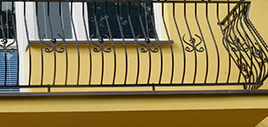 balustrada zewnętrzna Igański&Styl